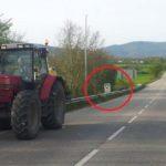 Detenido por arrancar con su tractor seis radares de tráfico en Alemania