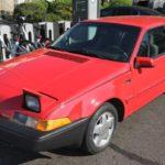 Sale a subasta el segundo coche personal del rey Felipe VI: un Volvo 480 ES Cupé