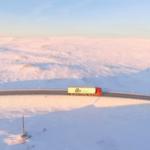 Camioneros de Islandia entre la nieve y el hielo