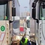 No te detengas a descansar a 10 minutos  de casa: multa a un camionero