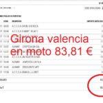 El chollo de las autopistas con las motos: 84€ Girona Valencia ida y vuelta