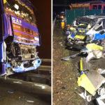Un camionero ucraniano ebrio mata a una policía de 23 años