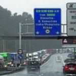 Gipuzkoa registra en pleno paro el tránsito de 1.116 camiones más que la semana pasada