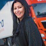 Soy camionera: Jovina Cianqueta, a golpe de carácter