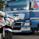 Un camionero dispara a otro por que le había adelantado en el peaje de Villefranche
