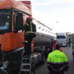 Un trabajador salva la vida al camionero que sufrió un ictus en Villarrobledo