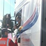 Denunciado un camionero polaco en Imarcoain por conducir 18 horas en un día