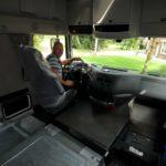 La UE ha decidido que las cabinas de los camiones  puedan ser hasta 90 cm más largas
