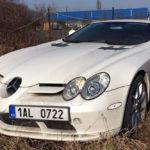 Este Mercedes SLR McLaren está embargado y 'abandonado' desde 2011