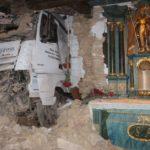 Un camión se estrella contra una iglesia de 1770 en Alemania