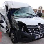Interceptado cuando viajaba a Polonia con una furgoneta accidentada