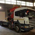 Se necesitan conductores de camión grúa 21-24000€ brutos año