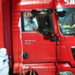 Encuentran muerto en la cabina a un camionero de 41 años de la empresa Sas Trans  con un golpe en la cabeza