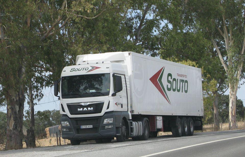 Camión Transportes Souto