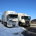 Los transportistas consideran 'desproporcionada' la suspensión obligatoria de circular con camiones