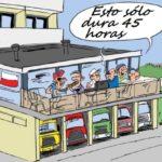 Estas son las multas en Europa por realizar el descanso en la cabina