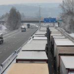 Cerca de 500 camiones atrapados en Francia hasta el jueves o más si no mejora el tiempo
