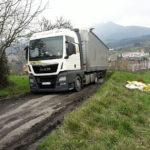 Fallece de un infarto un camionero atrapado por culpa del GPS