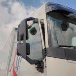 El camionero de El Mosca, de 61 años, ha sufrido quemaduras en las manos y la cara
