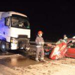 Accidente mortal en Arapiles: fallece una mujer al chocar su coche contra un camión