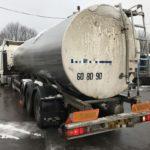 Dos camioneros denuncian riesgo de contaminación de alimentos por un transporte irregular