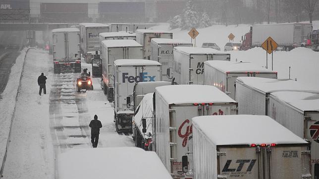 Se aproxima un nuevo temporal de nieve, frío y viento y volveremos a empezar la semana con problemas