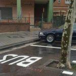 Habilitan una parada de Bus con un árbol dentro en Valladolid
