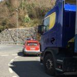 Denunciado un camionero reincidente  por positivo en tres drogas en Igantzi