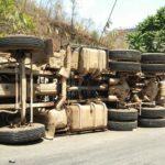 Cinco heridos en un accidente de tráfico en la autovía A-7 en Gualchos (Granada)