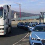 36,000 euros de multa a un camionero polaco por 30 infracciones de mercancías peligrosas