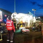 Muere un camionero de 45 años al volcar su camión en la AP15