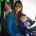 ¿Puedo llevar a mi mujer y mi hijo en el camión?. Responde el abogado