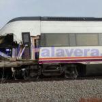 Muere el conductor de un camión arrollado por un tren en un paso a nivel cerca de Talavera