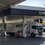 La constante subida del gasoil asfixia al sector del transporte