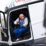 El camionero ebrio de Girteka que no quería salir del camión