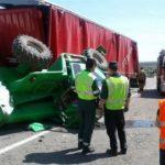 Un agricultor fallece y un camionero queda herido grave en dos sucesos en tres días