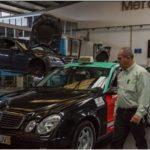 El taxista llega a los 2 millones de km en un Mercedes Clase E