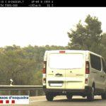 Cazado con una furgoneta a 193 km/h por una vía de 70