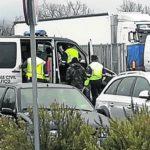 La Guardia Civil detiene a un conductor de autobús tras dar positivo por consumo de drogas