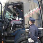 1700€ y retirada de carné a dos camioneros italianos por manipular el tacógrafo