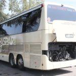 Roban el motor de un autobús en las cocheras de su casa sin que nadie se percate