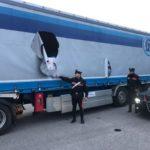 Roban valiosa mercancía en el estacionamiento logístico de GEODIS en Landriano