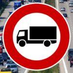 Restricciones de tráfico pesado puente de Mayo España y Europa