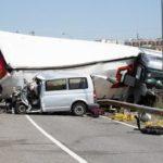 Tragedia!! Tres fallecidos y dos heridos al colisionar una furgoneta y camión en Soria