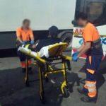 Dos camioneros, heridos con una barra hierro al impedir a un indocumentado colarse en un camión en el Puerto
