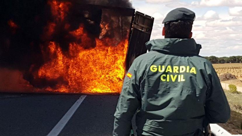 Fallece un camionero de 40 años en la A31 Montforte del Cid
