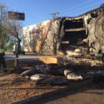 ÚLTIMA HORA | Se incendia un camión cargado de atunes muy cerca de Albacete capital