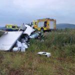 Un camionero queda atrapado por el motor de su camión en un impactante accidente