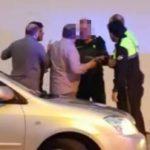 Un capitán de la Guardia Civil armado es increpado por querer conducir ebrio