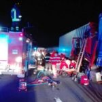 Un camionero muere atropellado cuando prestaba auxilio a un compañero que estaba atrapado tras sufrir una colisión por alcance